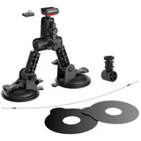 Sena Prism Suction Cup Mount, QRM System