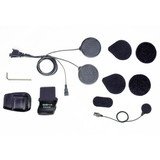 Sena Helmet Clamp Kit with Wired Mic for SMH5, SMH5-FM and SPH10H-FM